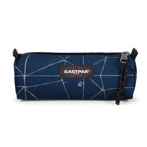 Estuche Eastpak escolar: Benchmark SINGLE EK37266TCracked Blue AZUL