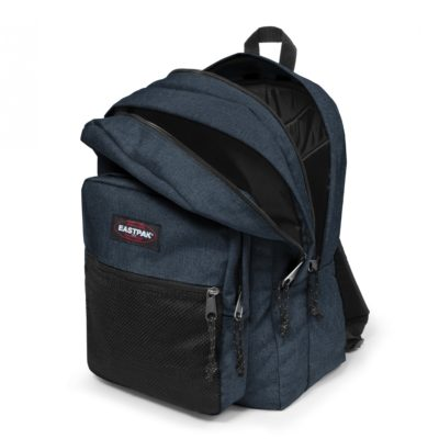 MOCHILA EASTPAK Pinnacle triple 38 litros EK06026W Triple Denim jeans azul tejano