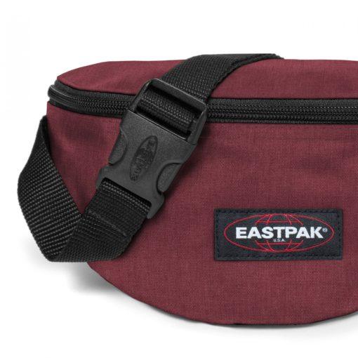 Riñonera Eastpak Springer EK07423S Crafty Wine granate efecto jeans