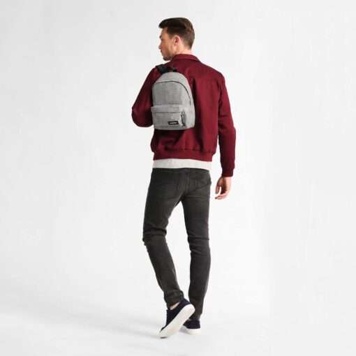 MOCHILA EASTPAK Orbit XS Mod. pequeño 10 litros EK043363 Sunday Grey jeans gris clara efecto tejano