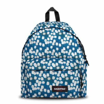 MOCHILA EASTPAK Padded Pak'r® 24 litros EK62078O FLOW BLUE flores azules y blancas