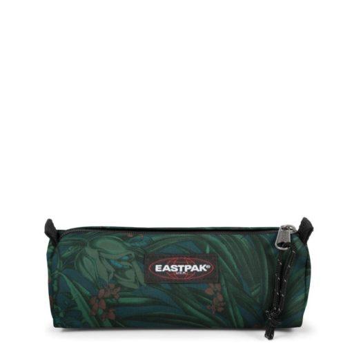 Estuche Eastpak escolar: Benchmark SINGLE EK37269X Brize Mel Dark flores verde