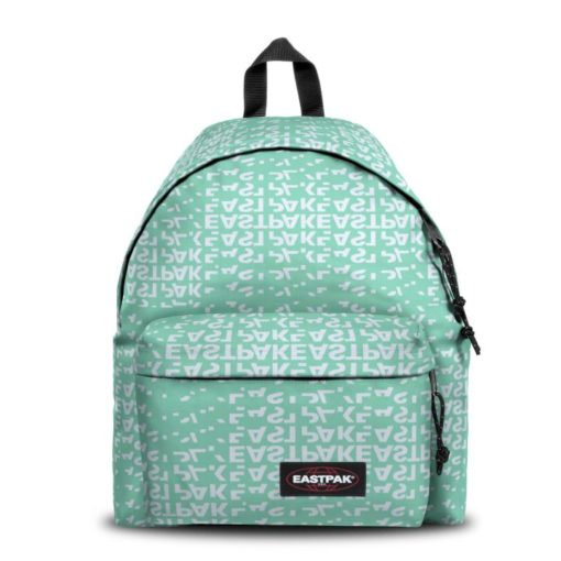 MOCHILA EASTPAK Padded Pak'r® EK62068X Bold Mellow verde agua logos blancos