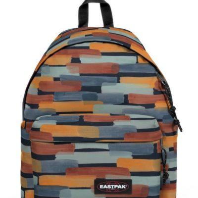 MOCHILA EASTPAK Padded Pak'r® 24 litros EK62083R Sand Marker pinceladas naranja y gris