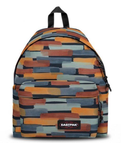 MOCHILA EASTPAK Padded Pak'r® EK62083R Sand Marker pinceladas naranja y gris