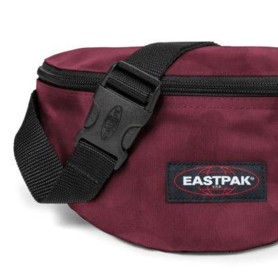 Riñonera Eastpak Springer 2 litros EK07412Y Tonal Camo Red camuflaje granate