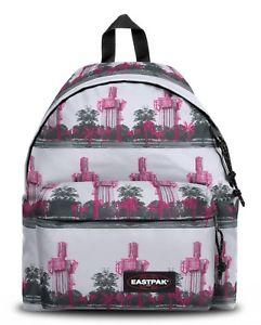 MOCHILA EASTPAK Padded Pak'r® EK62065T Urban Pink BLANCA Y ROSA