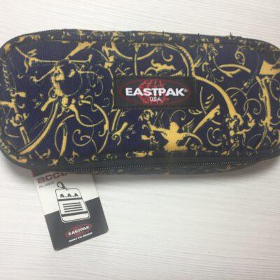 Estuche Eastpak escolar: PLUMIER OVAL EK717078 Azul marino dorado cachemir