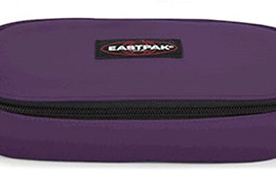 Estuche Eastpak escolar: PLUMIER OVAL Purple EK71737A Morado berenjena