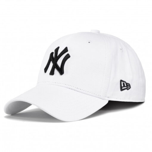 Gorra New Era Cap 9FORTY SNAPBACK NEW YORK YANKEES 10745455 blanca logo negro
