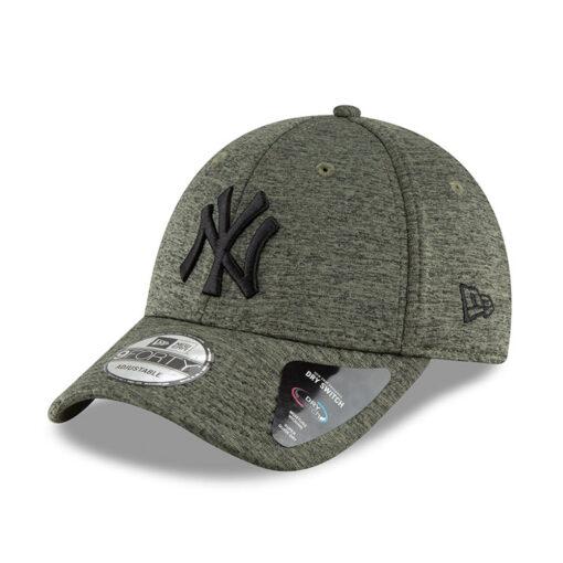 Gorra New Era Cap 9FORTY Adjustable NEW YORK YANKEES DRY SWITCH JERSEY Ref. 80635975 verde caqui gaspeado