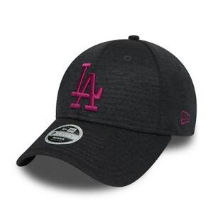 Gorra New Era Cap 9FORTY adjustable Los Angeles Dodgers Jersey Essential Ref. 80636042 gris jaspeado logo rosa