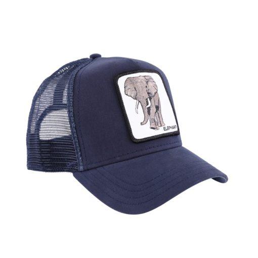 Gorra GOORIN BROS Trucker rejilla y ajustable Elephant Navy azul marino elefante
