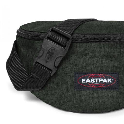 Riñonera Eastpak Springer EK07427T CRAFTY MOSS verde efecto tejano