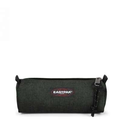 Estuche Eastpak escolar: Benchmark SINGLE EK37227T CRAFTY MOSS verde efecto tejano