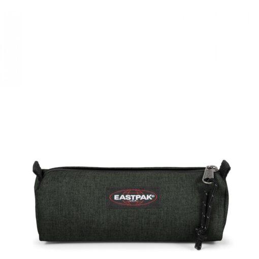 Estuche Eastpak escolar: Benchmark SINGLE EK37227T CRAFTY MOSS verde efecto tejano