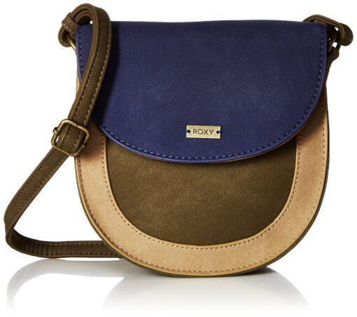 Bolso ROXY bandolera para mujer (gpz0) ERJBP03764 Winter And Coconut Small Crossbody Bag color oliva y marrón