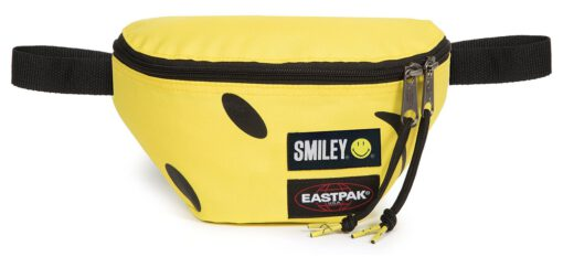 Riñonera Eastpak Springer EK074A92 Smiley Big Icono sonrisa WhastApp amarilla