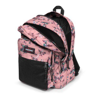Mochila eastpak Pinnacle mochila triple 38 litros EK06079Y Romantic Pink flores rosa palo