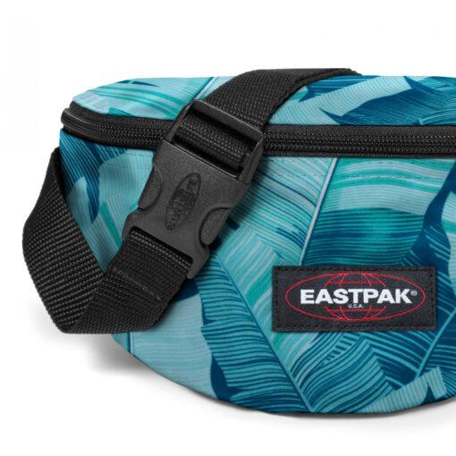 Riñonera Eastpak Springer EK074A17 BRIZE BANANA azules turquesas flores
