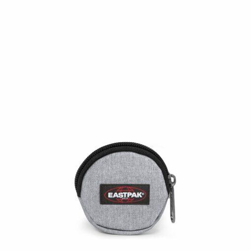 Comprar al mejor precio Monedero-llavero bolsito mini Eastpak: EK357363 Groupie Single gris claro nylon Altura:7 cm Ancho:7.5 cm Fondo:1.5 cm