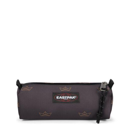Estuche Eastpak escolar: Benchmark SINGLE EK37291X Minigami Boats Barco papel marrón