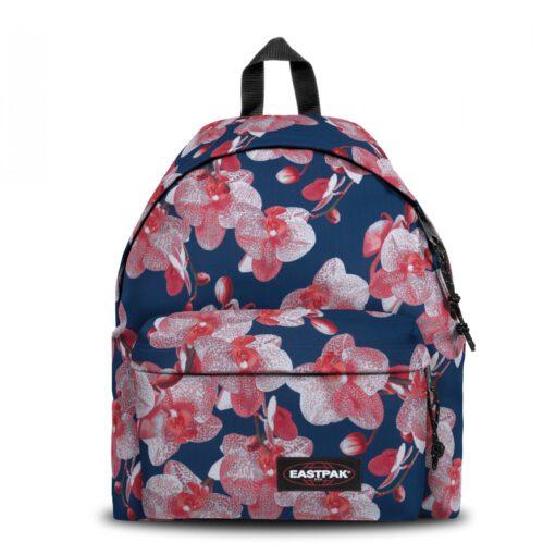 MOCHILA EASTPAK Padded Pak'r® EK620A90 Charming Pink Fores Azules y rosas