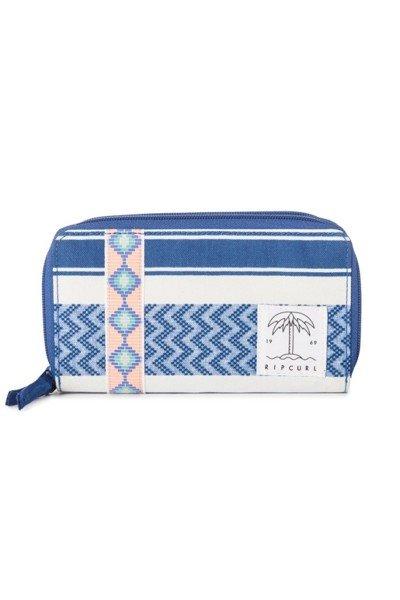 Billetera Rip Curl poliéster Ref. LWUFWU BLUE Fiesta del sol Wallet azul estampado