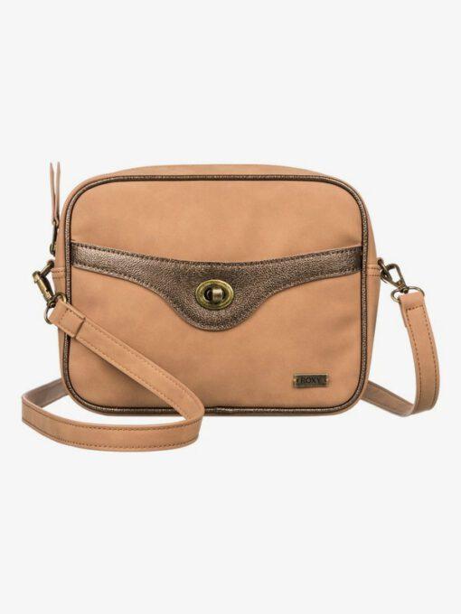 Bolso Mujer Roxy ERJBP03765 Tan Lines - Bolso tamaño medio marrón Camel