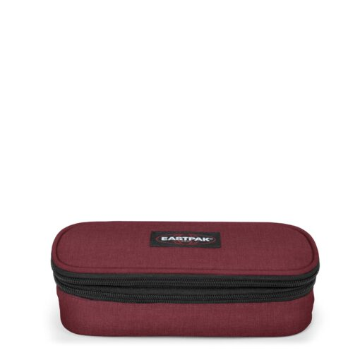Estuche escolar Eastpak plumier oval double silgle EK33D23S Crafty Wine Granate