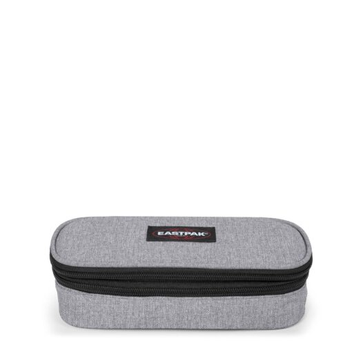 Estuche escolar Eastpak double oval single EK33D363 Sunday Grey Gris claro