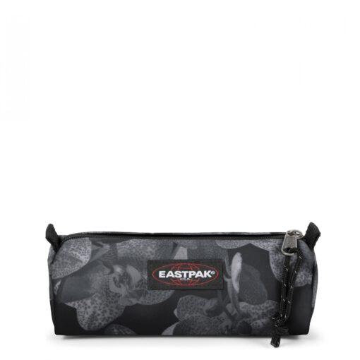 Estuche Eastpak escolar: Benchmark SINGLE EK372A89 Charming Black Flores grises