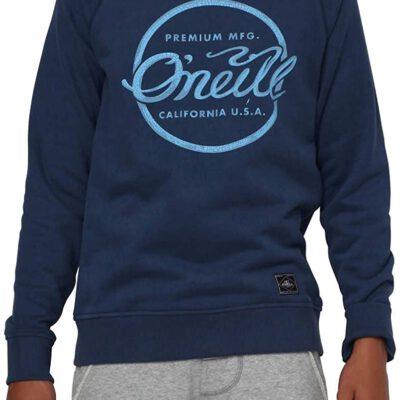 Sudadera O'NEILL niño cuello redondo para Chicos Ref. 501478 Carbon Blue Azul logo pecho