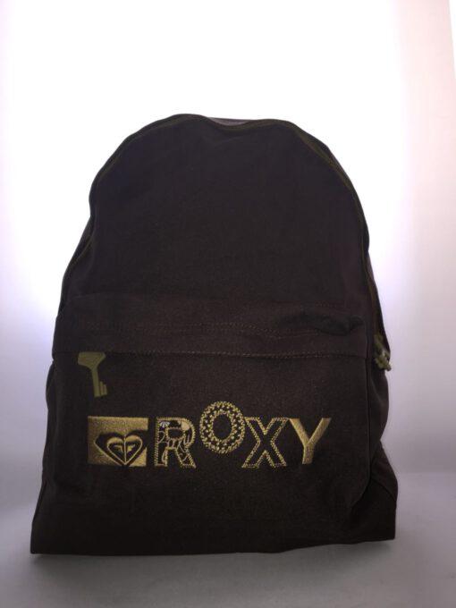 Mochila Roxy Basic Girl ref. XWWBA371 4138735 Marrón Logo Beig bordado