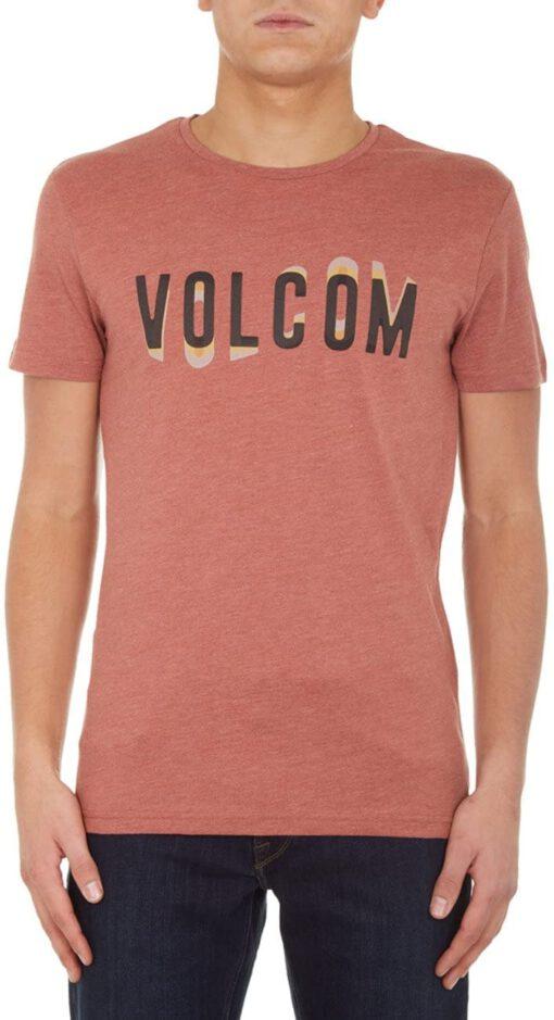 Camiseta Hombre VOLCOM manga corta WARBLE HTH SS Ref. A5711752 Caldera