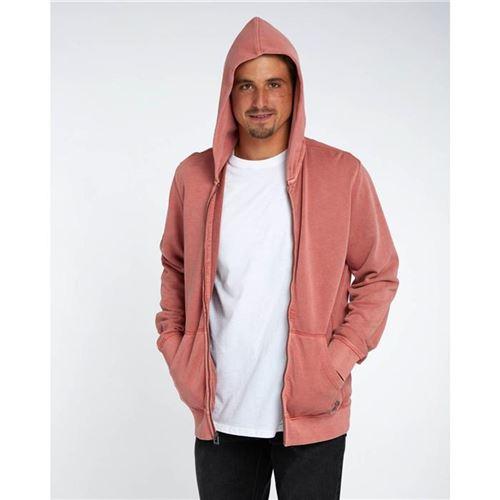 Sudadera Hombre con capucha y cremallera Billabong wave zh 2425/washed red ref h1fl09 bip8 rosado lavado