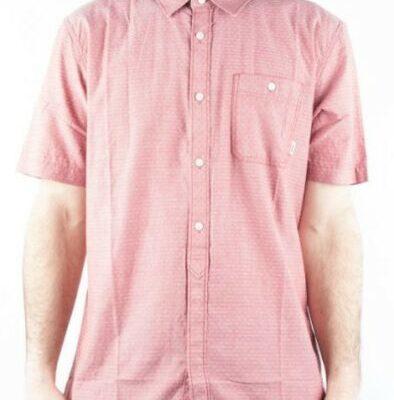 Camisa de Manga Corta Hombre VANS FRAZIER BUTTONDOWN SHIRTRef. VN0ONBFXK color roja