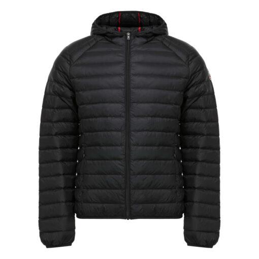 Chaqueta capucha Jott de plumas Hombre Noir NICO 999 BASIC Justoverthetop Color negro