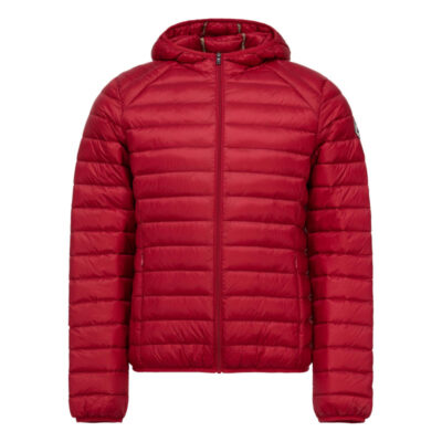 Chaqueta capucha Jott de plumas Hombre Red NICO 300 BASIC Justoverthetop Color rojo
