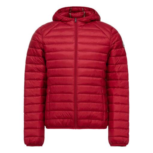 Chaqueta capucha Jott de plumas Hombre Red NICO 300 BASIC Justoverthetop Color rojo