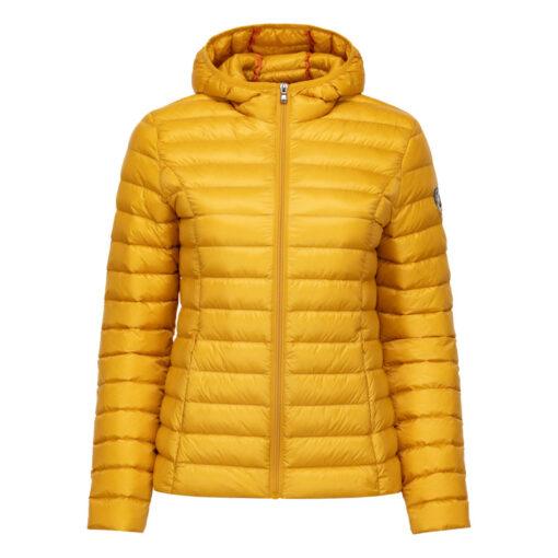 Chaqueta capucha Jott de plumas Mujer Moutarde 1900CLOE BASIC Justoverthetop Color mostaza
