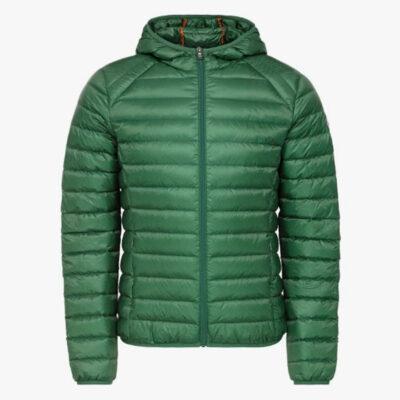 Chaqueta capucha Jott de plumas Hombre Verde Foret NICO 242 BASIC Justoverthetop verde
