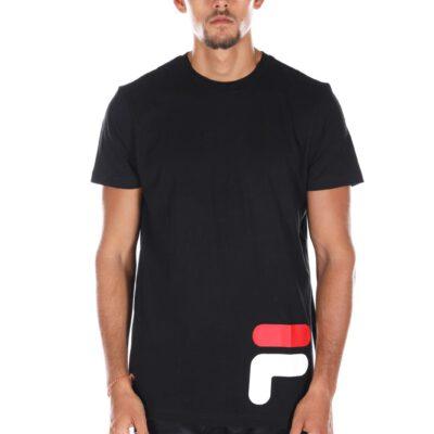 Camiseta manga corta FILA chico Men Eamon Tee Ref. 684489 Negra logo parte inferior