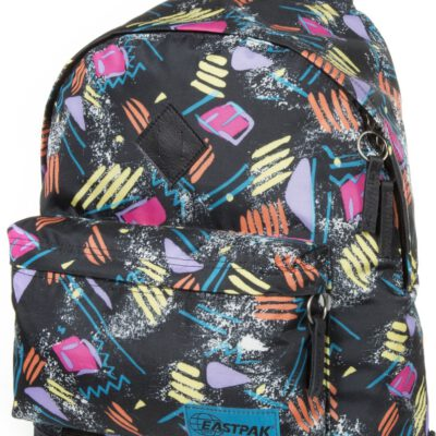 MOCHILA EASTPAK Fondo cuero Wyoming Into EK81181L Into Oldies multicolor