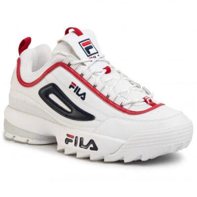 Zapatillas deporte FILA hombre DISRUPTOR CB LOW MEN WHITE Ref. 1010707.92N blanca