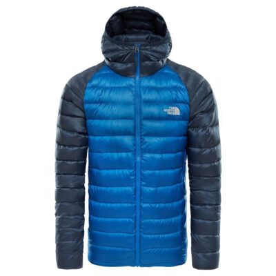 Chaqueta de Plumón The North Face hombre Trevail Jacket T939N41SK-S TREVAIL HOODIE bicolor azules