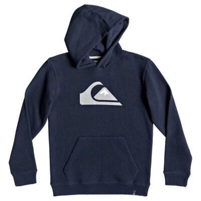 Sudadera niño Quiksilver con capucha para Chicos Logo Ref. EQBFT03468 azul marino logo grande