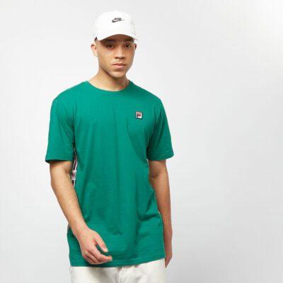 Camiseta manga corta FILA chico Men Hades Tee Ref. 687640 Verde bandas impresas logos