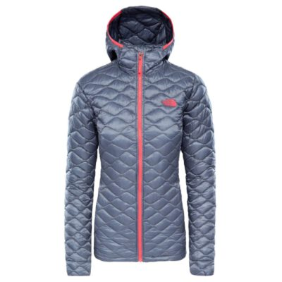 Chaqueta de Plumón The North Face mujer Thermoball Grisaille grey T93RXE3YH Gris detalles fucsia