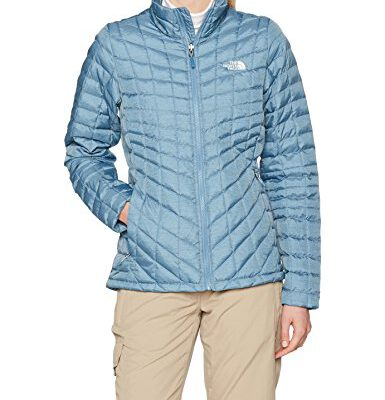 Chaqueta de Plumón The North Face mujer Thermoball T933HIVCY Provincial azul mate